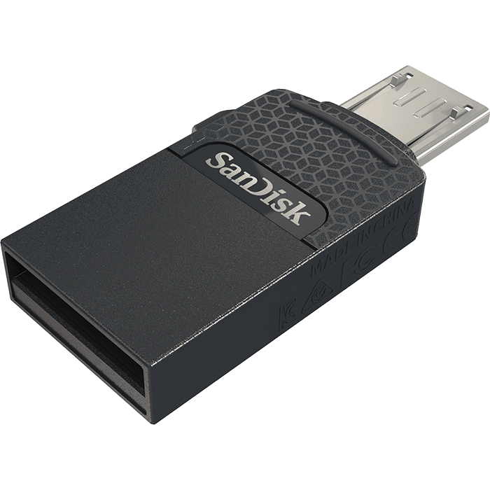 SanDisk<sup>®</sup> Dual Drive 雙用磁碟
