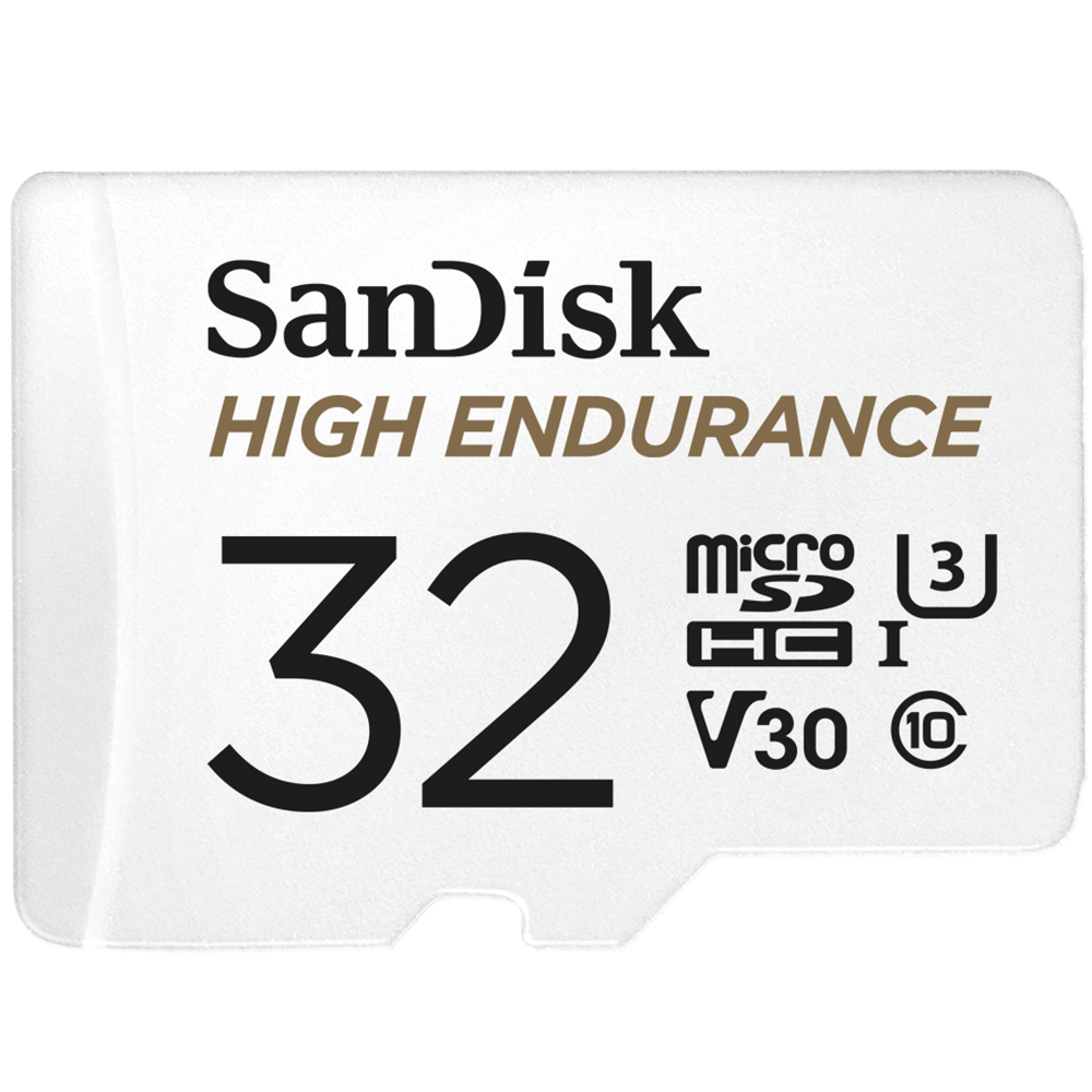 "SanDisk 耐久性高的影像監控 <span class=""lowercase"">micro</span> SD 卡"