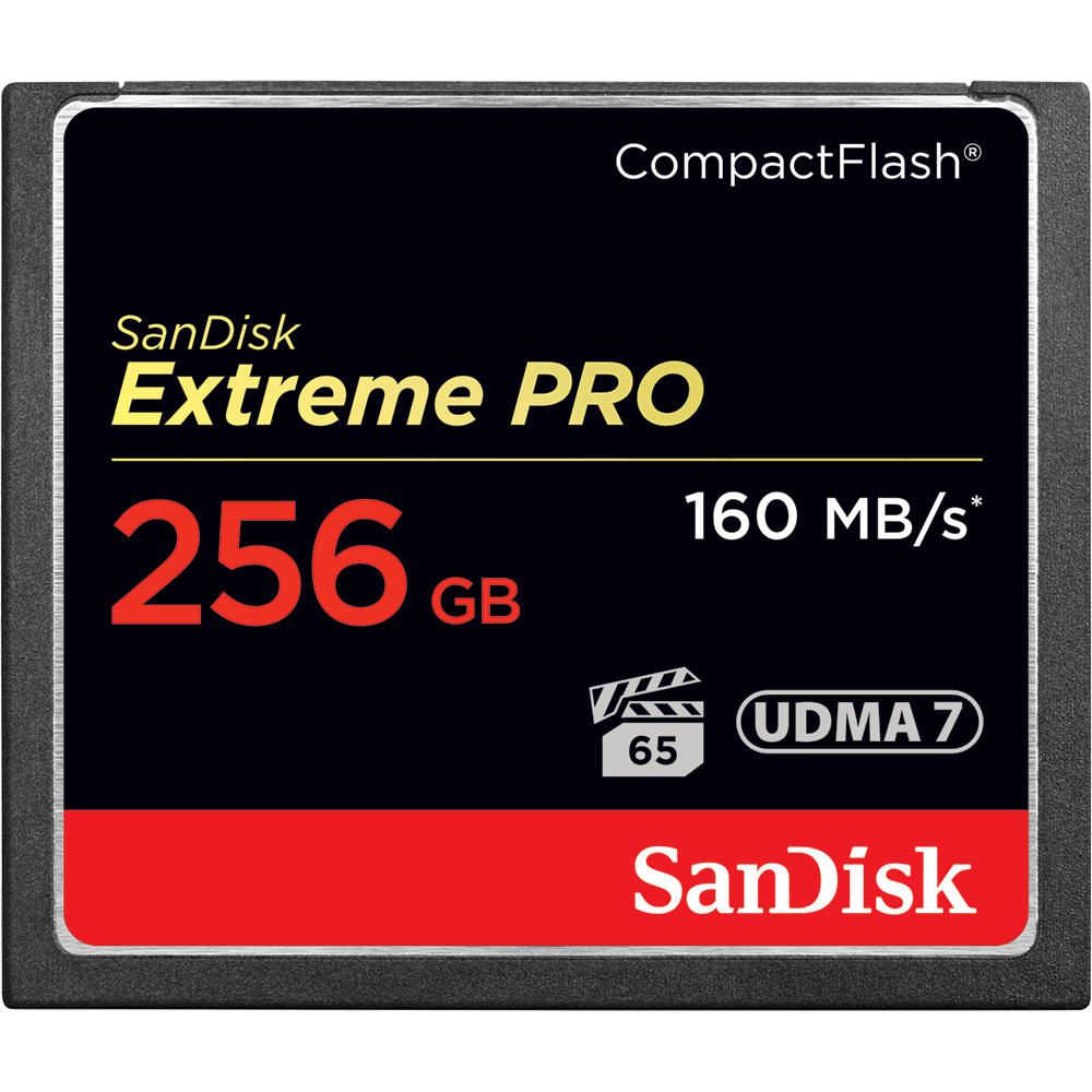 SanDisk Extreme PRO<sup>®</sup> CompactFlash<sup>®</sup> 記憶卡